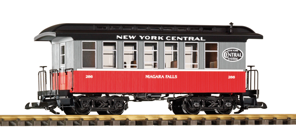 38650 NYC Wood Coach #286 (G-Scale)