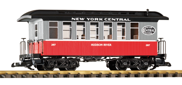 38651 NYC Wood Coach #287 (G-Scale)