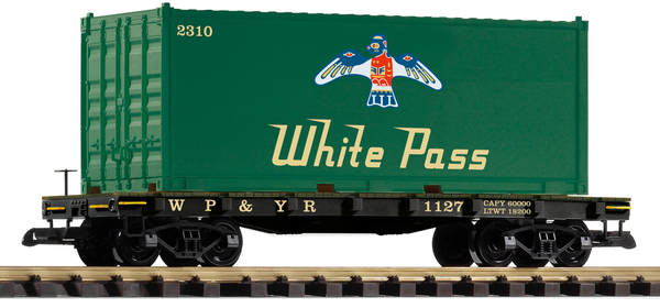 38709 WP&YR #1127 Container Car (G-Scale)