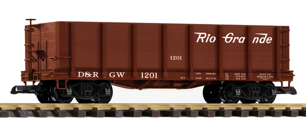 38715 D&RGW High-Side Gondola (G-Scale)