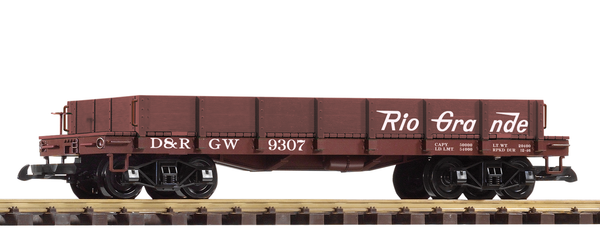 38736 D&RGW Low-Side Gondola (G-Scale)