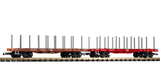 38742 NYC Flatcar 2-Pack (G-Scale)