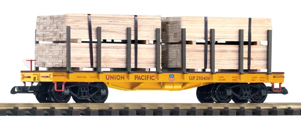 38757 UP Flatcar w/ Lumber Load (G-Scale)