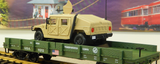 38764 USATC Humvee Auto Transport (G-Scale)