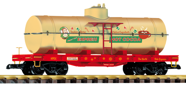 38772 Christmas Hot Cocoa Tank Car (G-Scale)