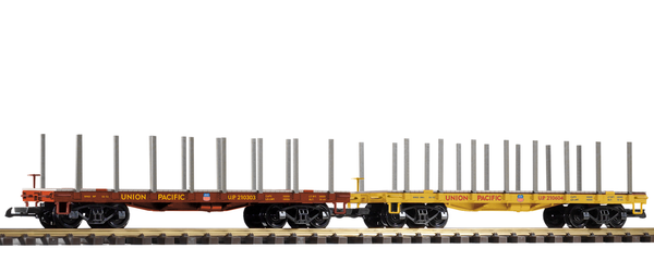 38774 UP Flatcar 2-Pack (G-Scale)