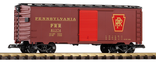 38825 PRR Steel Boxcar (G-Scale)