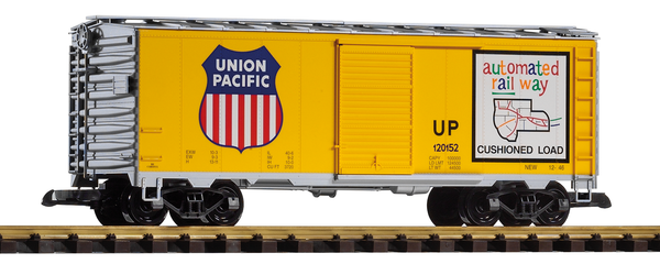 38831 Union Pacific Steel Boxcar, Armour Yellow (G-Scale)