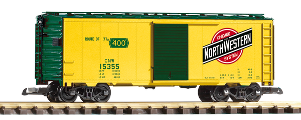 38873 CNW Steel Boxcar (G-Scale)
