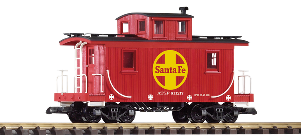 38896 SF Wood Caboose 611217 (G-Scale)