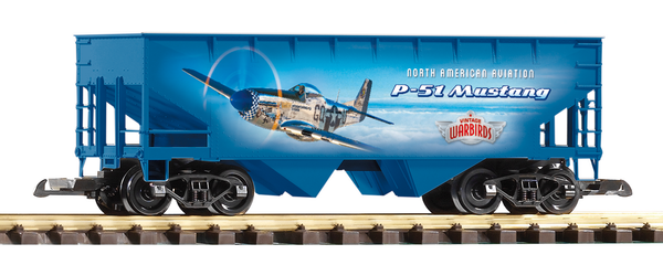 38902 Vintage Warbirds P-51 Hopper (G-Scale)