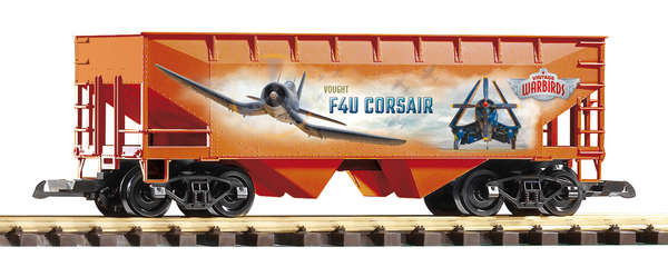 38909 Vintage Warbirds F4U Corsair Hopper (G-Scale)