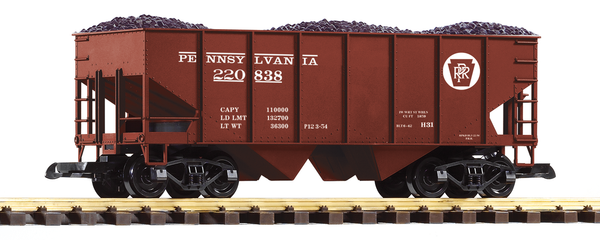 38916 PRR Rib-Side Hopper Car (G-Scale)