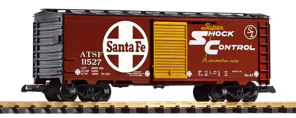 38926 SF Steel Boxcar (G-Scale)