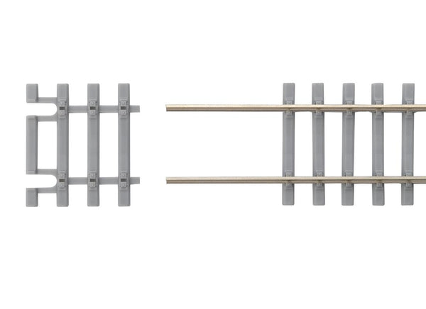 55151 Box of 12 Concrete Tie Flex Track End Ties 31mm Long (HO-Scale)