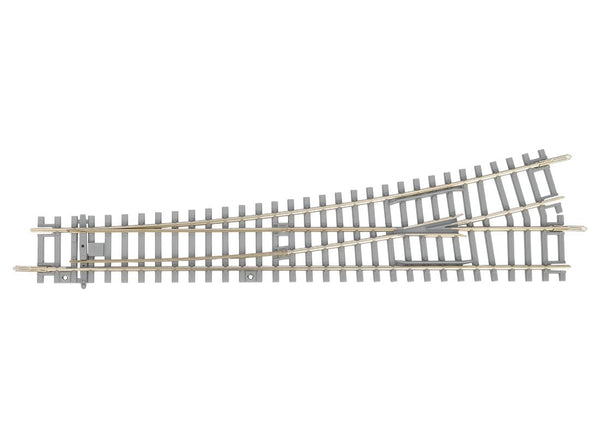55170 Concrete Tie Left Switch WL, R9, 239mm (HO-Scale)