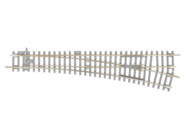 55171 Concrete Tie Right Switch WL, R9, 239mm (HO-Scale)