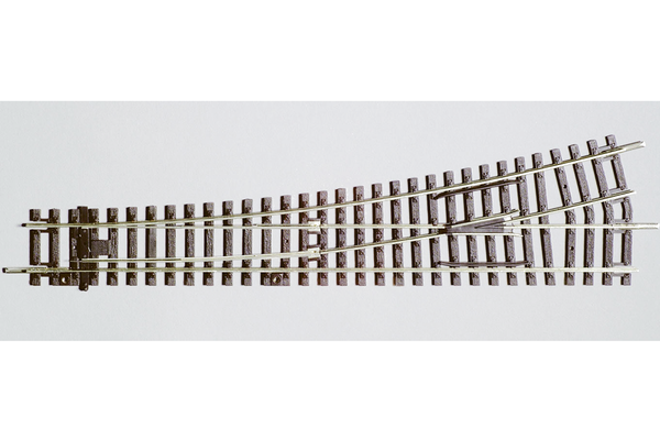 55220 Left Switch WL, R9, 239mm (HO-Scale)