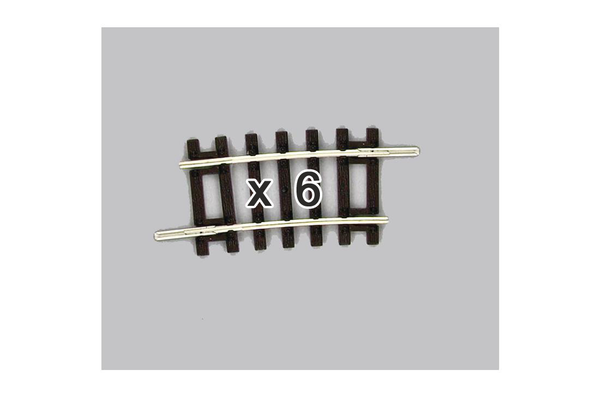 55251 Box of 6 Curved Track, R1/7.5° (HO-Scale)
