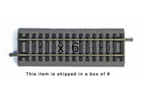 "55402 Box of 6 Roadbed A-Track Straight, 4.7"" (HO-Scale)"