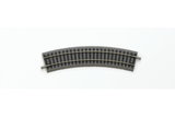 55411 Box of 6 Roadbed A-Track Curved Track, R1/30° (HO-Scale)