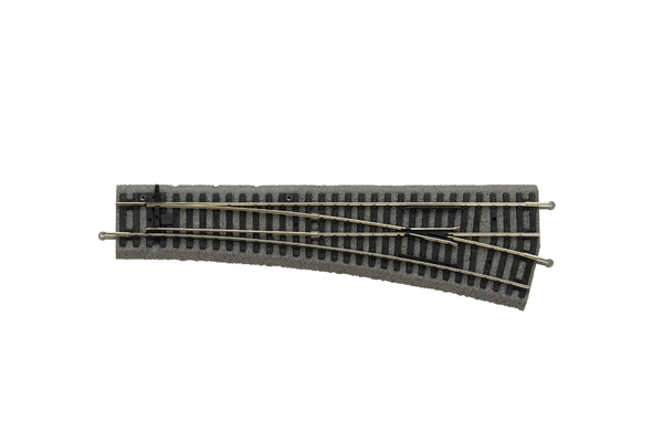 55421 Roadbed A-Track Right Switch WL, R9 (HO-Scale)