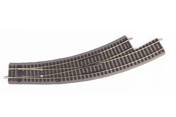 55427 Roadbed A-Track Left Curved Switch BWL R3/R4 (HO-Scale)