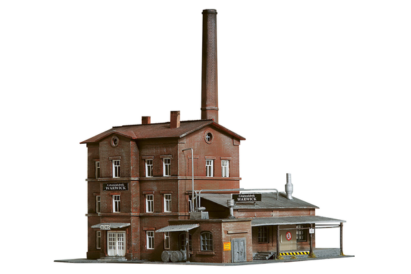 60010 Warwick Guitar Factory, Building Kit (N-Scale)