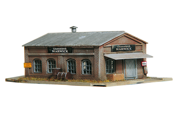 60011 Warwick Workshop, Building Kit (N-Scale)
