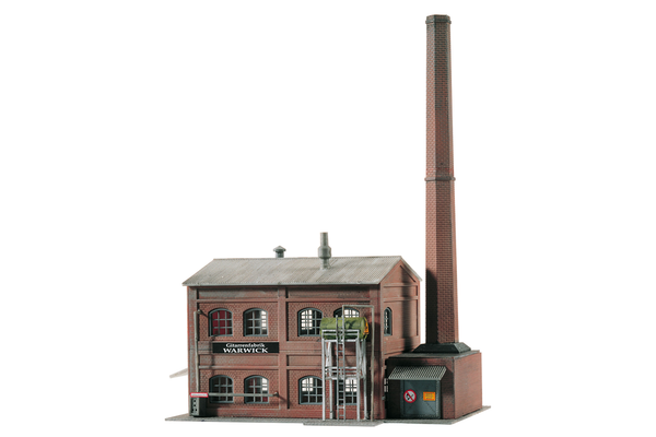 60014 Warwick Boilerhouse, Building Kit (N-Scale)