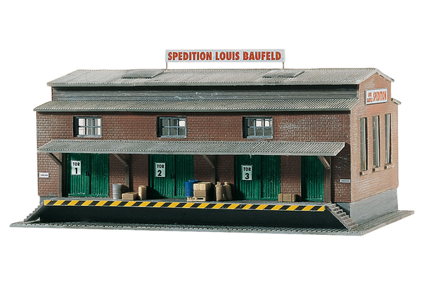 60015 Louis Baufeld Forwarder, Building Kit (N-Scale)