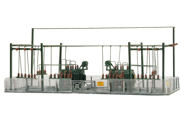 60016 Transformer Station, Building Kit (N-Scale)