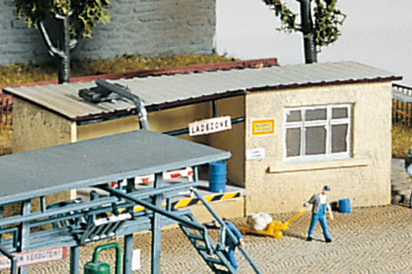 60022 Filling Station Office, Building Kit (N-Scale)