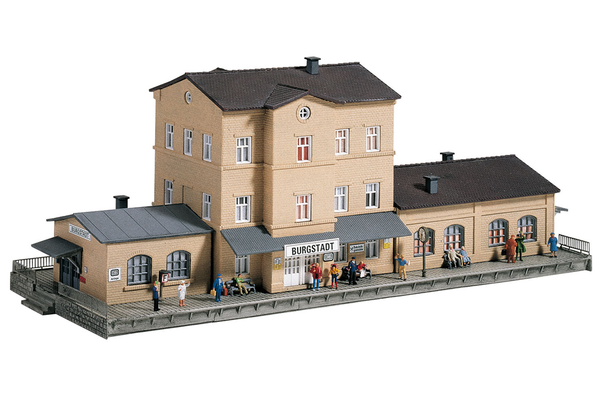 60023 Burgstadt Station, Building Kit (N-Scale)
