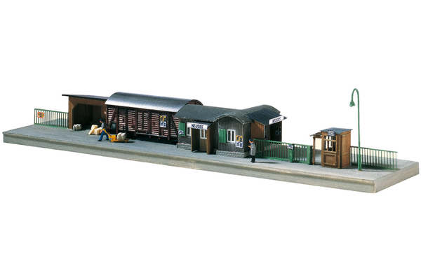 60028 Temporary Railway Station, Building Kit (N-Scale)