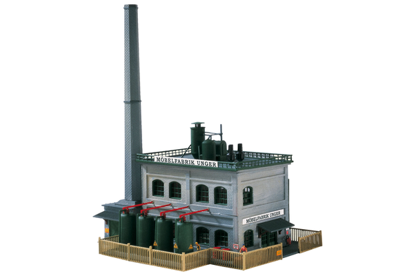 60029 A Unger Furniture Factory, Building Kit (N-Scale)