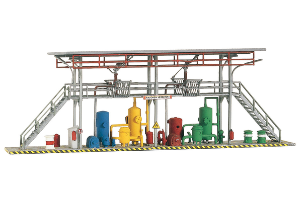 61105 Classic Line Tank Station Fill Racks, Building Kit (HO-Scale)