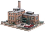 61117 Classic Line Factory Side Building, Building Kit (HO-Scale)