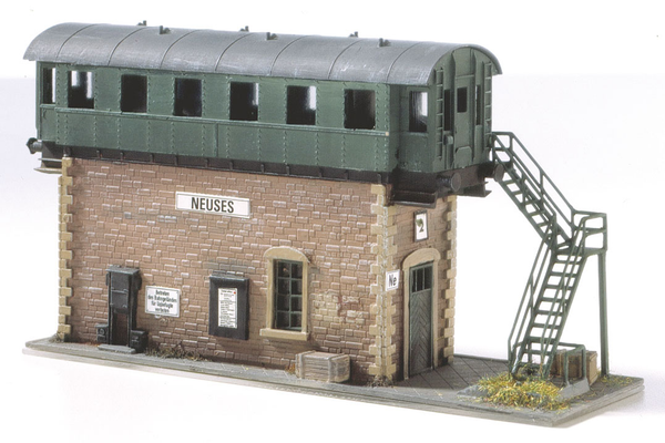 61128 Classic Line Neuses old Switch Tower, Building Kit (HO-Scale)