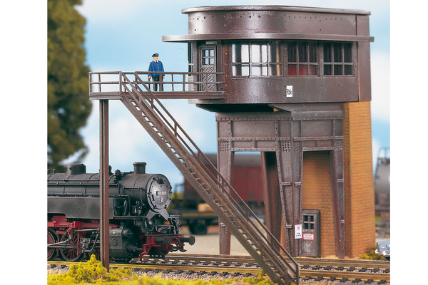 61137 Classic Line Reinbek Switch Tower, Building Kit (HO-Scale)