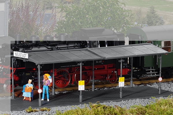 62004 Covered Platform Building Kit (G-Scale)