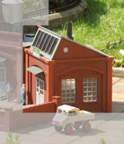 62017 Boiler House, Building Kit (G-Scale)