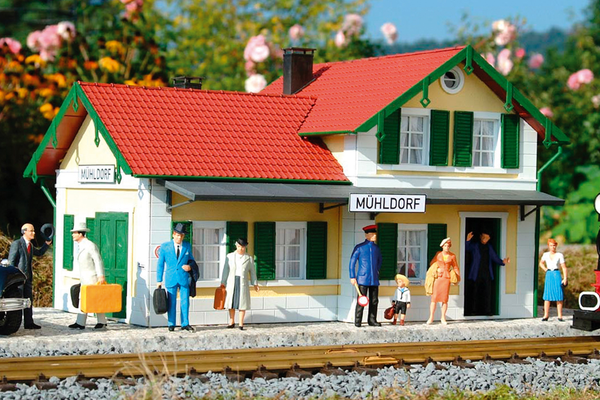 62029 Blue Creek Valley Station, Building Kit (G-Scale)