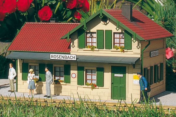 62040 Rosenbach Station, Building Kit (G-Scale)