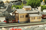 62042 Rosenbach Engine Shed, Building Kit (G-Scale)