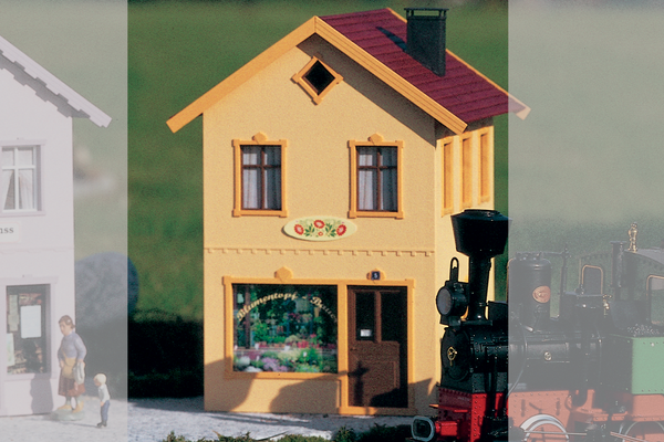 62065 The Village Bauer Florist, Building Kit (G-Scale)