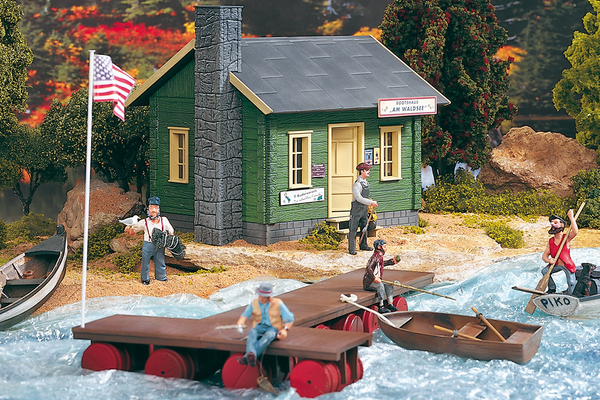 62103 Bait & Tackle Shop, Building Kit (G-Scale)