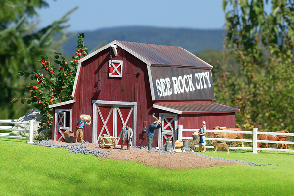 62110 Red Barn, Building Kit (G-Scale)