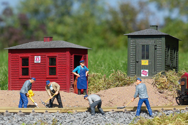 62113 Utility Buildings, Building Kit (G-Scale)