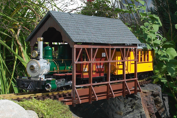 62116 Covered Bridge, Building Kit (G-Scale)